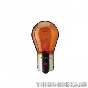 Лампа PY21W LongLife EcoVision 12V 12496 LLECO CP (10) 38218173